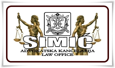 Advokatska kancelarija SIMIC Beograd Srbija Law Office Belgrade Serbia SIMIC Law Firm Serbia Belgrade Full service Law office General practice Law firm Serbia Beograde Criminal Defense Lawyer Attorney Belgrade Law office Nova advokatska tarifa u Srbiji Novi raspored sudova u Beogradu Nove sudske takse u Srbiji Lawyer Costs Serbia Belgrade Attorney Costs and Fees in Serbia Belgrade Lawyer Prices Serbia Belgrade Attorney Prices Serbia Court Fees in Republic of Serbia Court Costs in Republic of Serbia